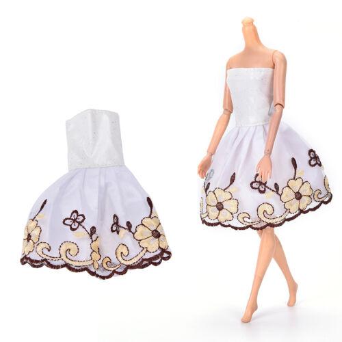 "Fashion Beautiful Handmade Party Clothes Dress for 9/""  Doll Mini 102 JB"