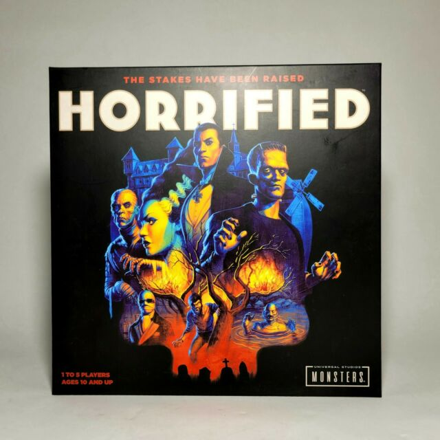 Horrified - A Universal Monsters Strategy Board Game by Ravensburger
