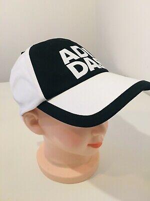 Adidas Performance-cap Berretto Con Logo Nero Bianco-nuovo Taglia Pitt M105a-mostra Il Titolo Originale