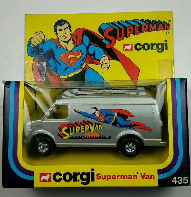 La nueva Corgi 435 súperman.