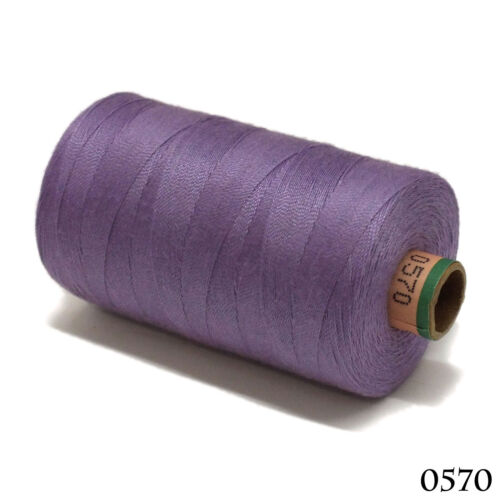 Amann 100/% Polyester Core-Spun Sewing Thread  Sabac 80 1000M Color 0570 Purple