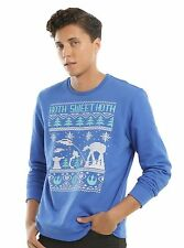 Star Wars Hoth Sweet Hoth Fair Isle sweater holiday ugly christmas MEDIUM