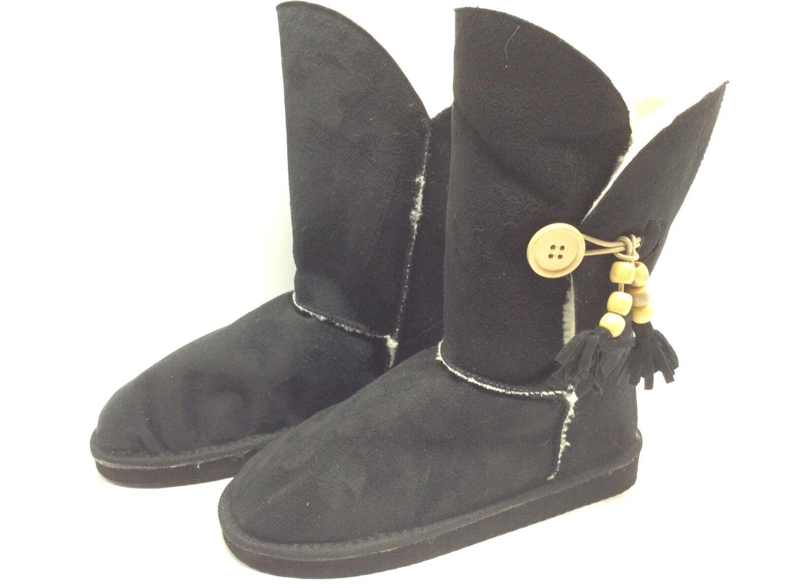 Pierre Dumas Riva - 4 Invierno Moda botas botas botas Negras Talla  51-2 7M  el más barato
