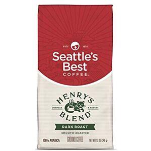 Seattle-039-s-Best-Coffee-Henry-039-s-Blend-Dark-Roast-Ground-Coffee