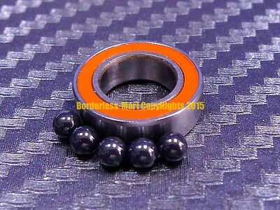 QTY 4 4x9x4 mm S684-2RS Hybrid Ceramic Ball Bearing ABEC-7 ORANGE 684RS