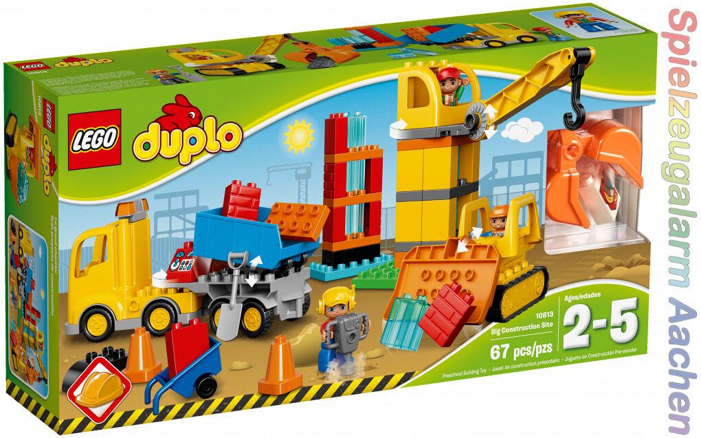 LEGO 10813 DUPLO Große Baustelle Big Construction Site Le grand chantier N9/16
