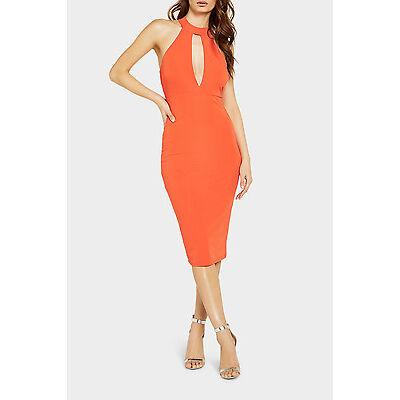 NEW Bardot Fever Plunge Dress Red