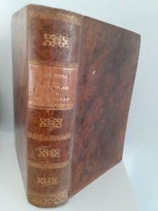 Nuevo Diccionario Lengua Francaise M. Noel - Chapsal 1852 Delalain París