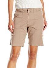 item 4 Women's Lee Relaxed Fit Avey Knit Cargo Bermuda Shorts Plus Size 24W  Khaki $46 -Women's Lee Relaxed Fit Avey Knit Cargo Bermuda Shorts Plus Size  24W ...