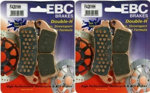 2006-2010 Honda GL1800HPN Gold Wing EBC Sintered HH Front Brake Pads Set of 2