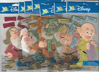 U Choose Disney Seven Dwarfs 3d Stickers Dopey Doc Grumpy Sneezy
