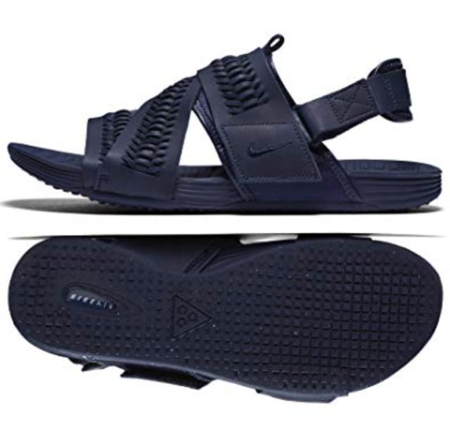 NIKE Sandals Men AIR Solarsoft Zigzag WVN QS 850588 45 Grey