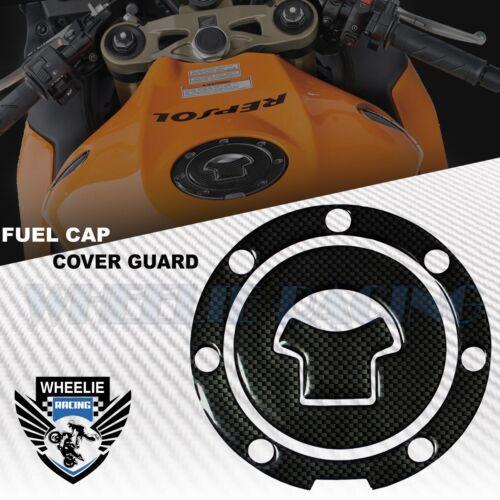 CARBON BLACK GAS TANK FUEL CAP COVER PROTECTION GUARD PAD 03-17 CBR-1000RR//600RR