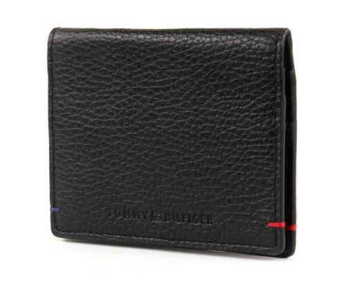 TOMMY HILFIGER Tiago Mini CC /& Coin Pocket Etui Kreditkartenetui Black Schwarz