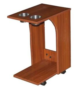 Image Is Loading Side Tables Drink Snack Food Carts Casters