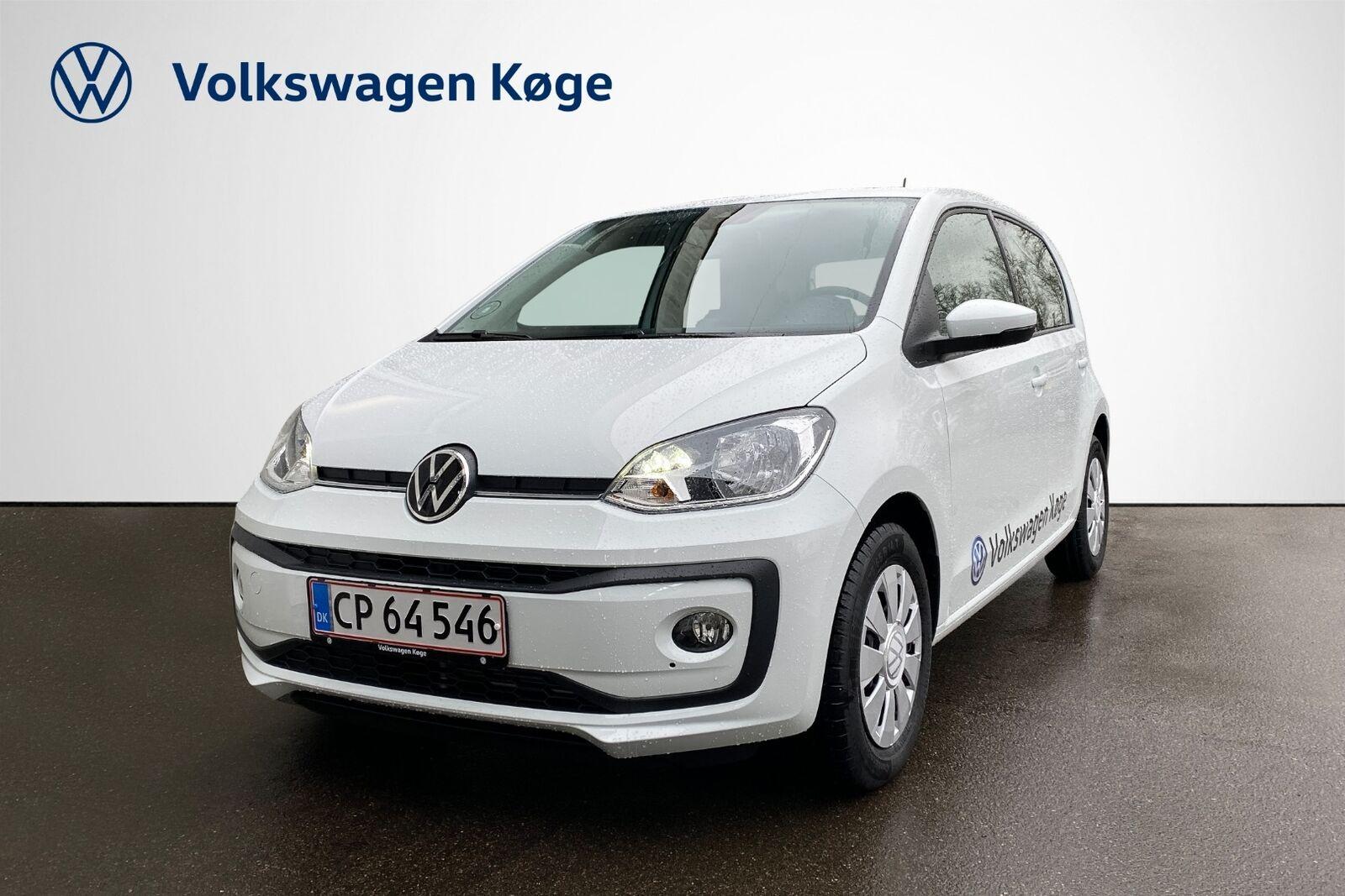 VW Up! 1,0 MPi 60 5d - 124.900 kr.