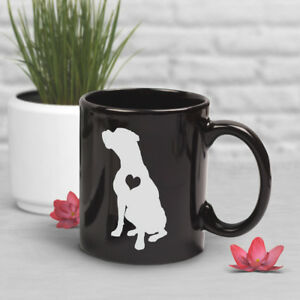 Boxer Coffee Mug Pet Dog Lover Cute Gift For Her Him White Boxer