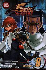 Yu-Gi-Oh! 5D's Volume 8 With Card   Masahiro Hikokubo  Paperback Manga NEW