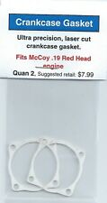 McCoy .19 Red head Crankcase Gasket 2 Pack NIP