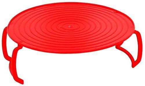 Nouveau Micro-ondes chaleur et manger 4 en 1 Multi Purpose plateau rouge PP355