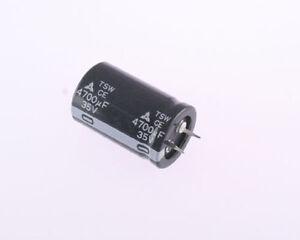 20x Panasonic 4700uF 35V Aluminum Electrolytic Snap In Capacitor ECET35R472SW