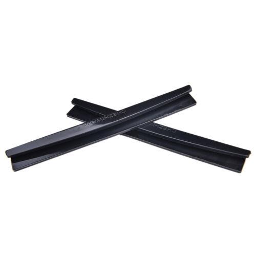 8 Pcs Black Car Side Door Edge Defender Protector Trim Guard Protection Strip HI
