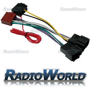 saab 93 95 radio iso lead wiring harness connector adaptor cable image is loading saab 93 95 radio iso lead wiring harness