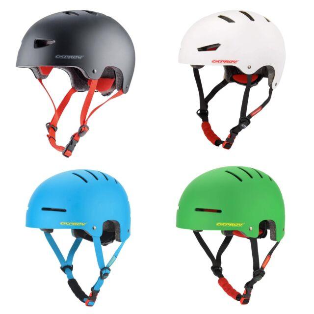Osprey Kids Skate BMX Scooter Helmet ABS Shell Child Head Blue Green White Black