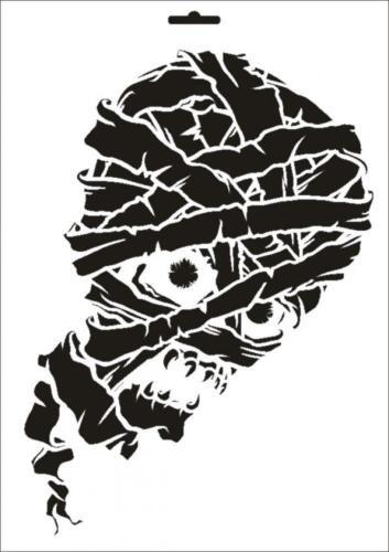 Wandschablone Maler T-shirt Schablone W-274 Mumie ~ UMR Design