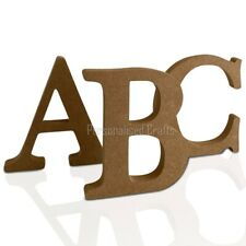 Free Standing Wooden MDF Letters 18mm Thick! 4 Heights Available