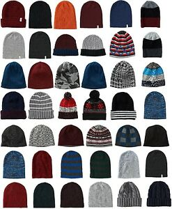 9ee6b61883e AERO AEROPOSTALE Mens logo Knit Winter Hat Beanie Cap Ski Toque ...