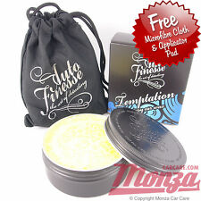 Auto Finesse 'Temptation' Carnauba Car Polish / Wax / Sealant ** COMPLETE KIT**