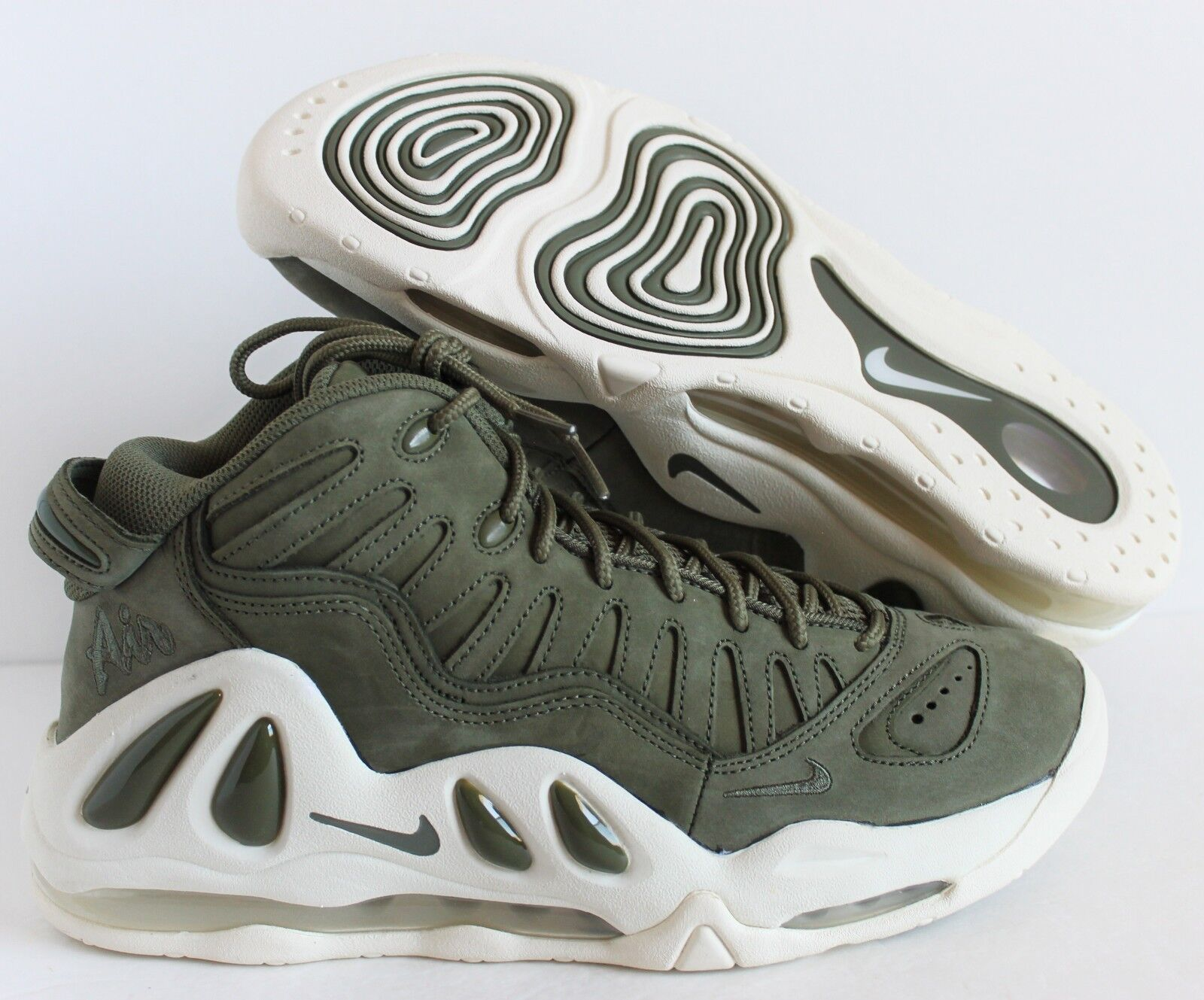 NIKE MEN AIR MAX UPTEMPO 97 URBAN HAZE-WHITE Price reduction Comfortable and good-looking