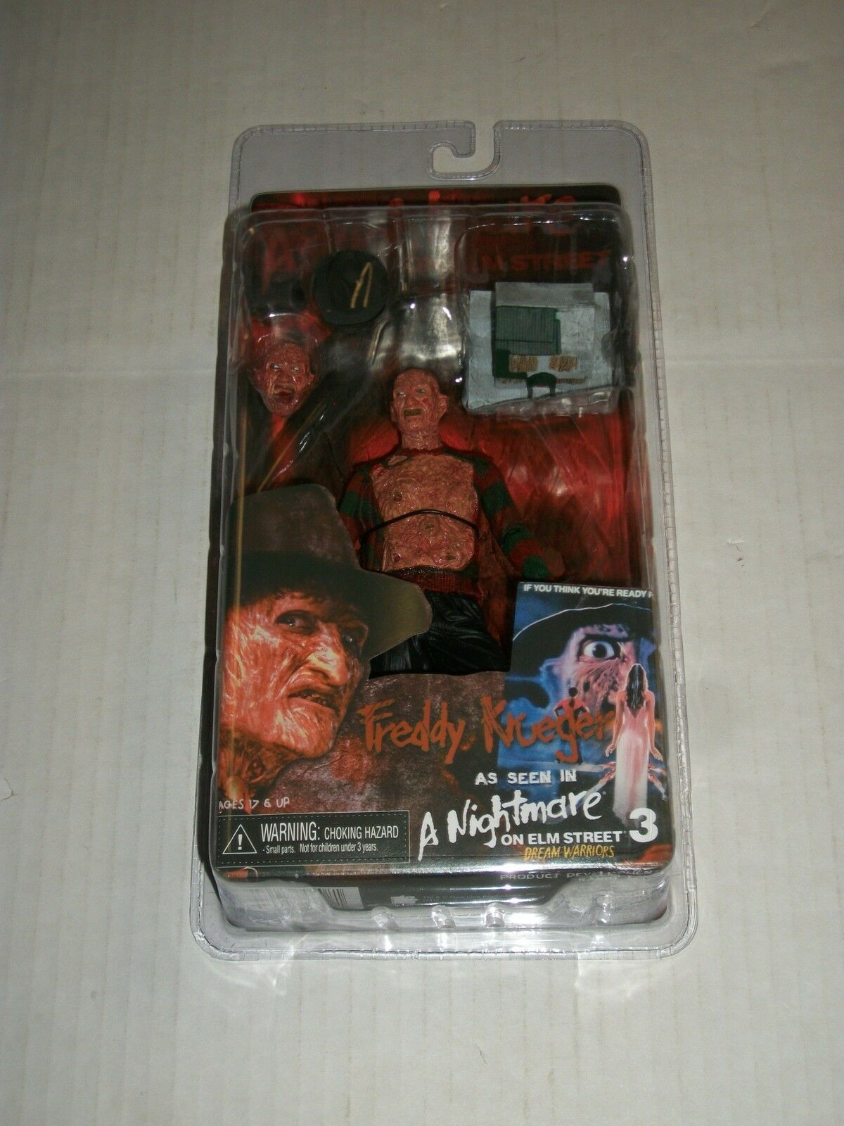 NECA A Nightmare on Elm Street 3 FROTDY KRUEGER Action Figure Series 2