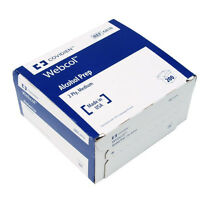 Isopropyl Alcohol Prep Pads, 70%, Medium, Sterile, 4000 Packets/case, 6818