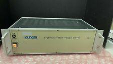 Newport Corporation Klinger Stepping Motor Power Driver Model Progstpgmtrdriv