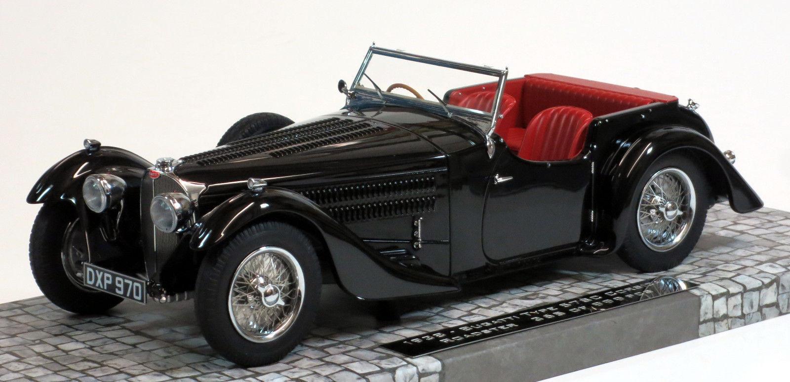 Todos los productos obtienen hasta un 34% de descuento. Minichamps 1937 Bugatti Tipo 57SC 57SC 57SC Córcega Roadster negrohawk Resina 1 18New artículo  mejor reputación