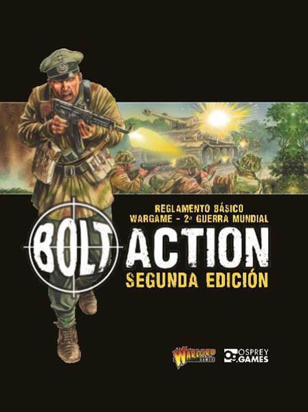 BOLT ACTION  Segunda edición española - WARLORD GAMES - WORLD WAR II