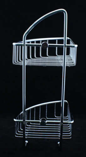 Ultra High Grade Stainless Steel Bathroom Caddy Shower! No RUST