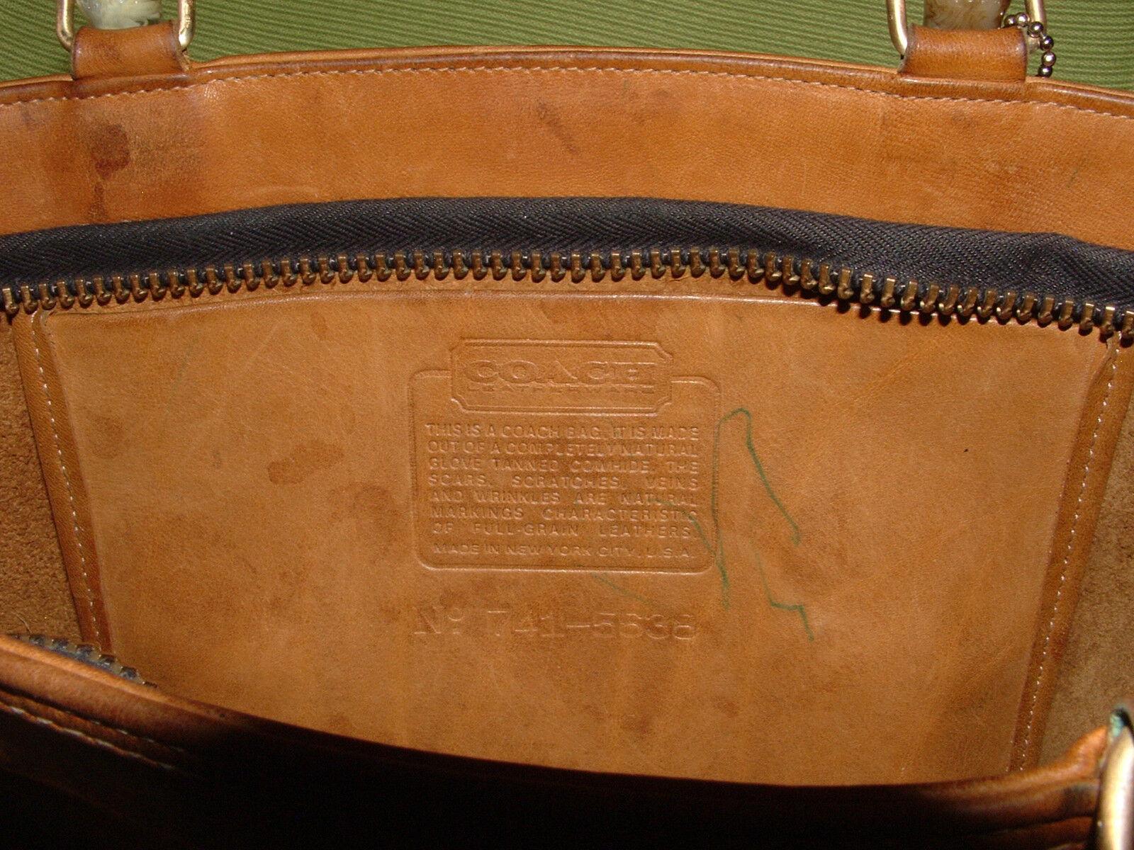 Custom vintage COACH Bonnie Cashin satchel VGC **… - image 6