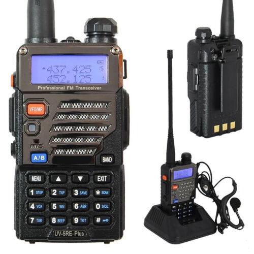 BAOFENG UV-5RE Plus Dual-Dand VHF/UHF CTCSS&CDCSS Two-way Radio Walkie Talkie EU