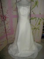 wedding Dress Unknown Brand, White, Size 12, Beading, Long Sheer Train, Beauty