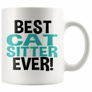 Best Cat Sitter Ever Coffee Mug Cat Sitter Gift Cat Sitter Mug World's Best Cat