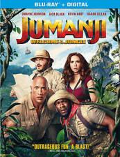 Jumanji: Welcome to the Jungle (Blu-ray/DVD, 2018, Includes Digital Copy)