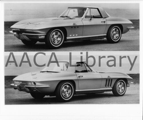 Ref. #35961 Factory Photo 2 Shots 1966 Chevrolet Corvette Sport Coupe