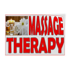 Decal Stickers Massage Therapy Vinyl Store Sign Label Business