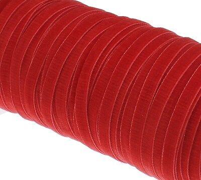 Samtband 12mm 5M Grau Samtborte Schmuckband Schleifenband Zierborte C270
