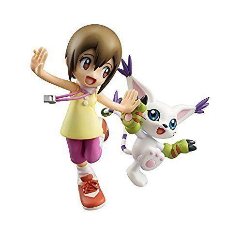 Megahouse Digimon Adventure  Yagami Hikari & Tailmon G.E.M. PVC Figure