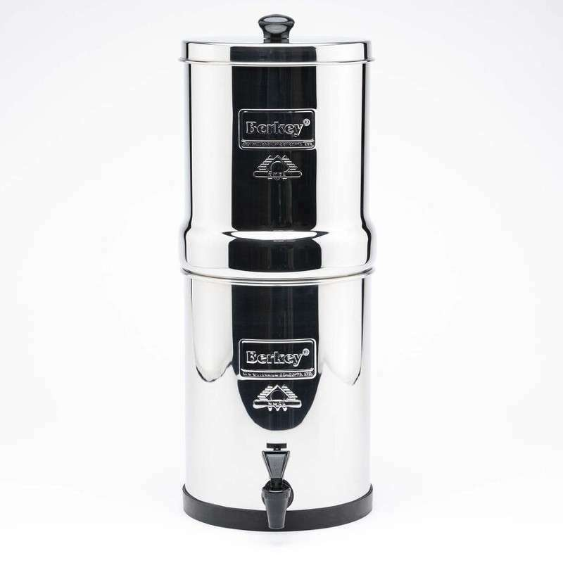 Nouveau voyage Berkey Purification System with Sport Berkey Water Bottle