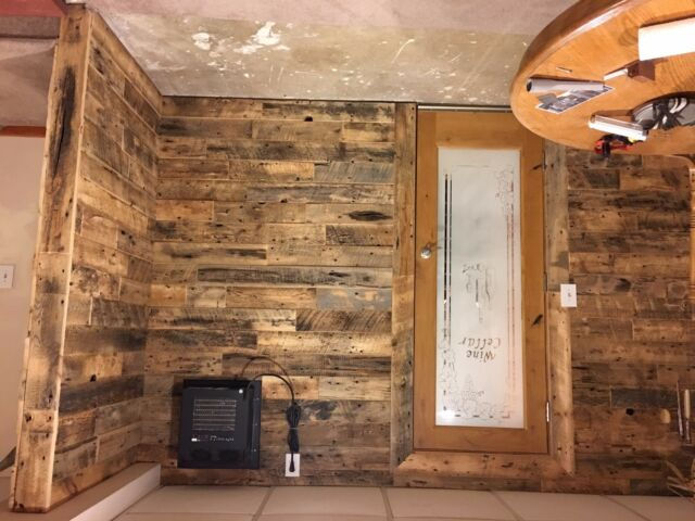 Reclaimed Vintage Old Growth White Pine Wood Paneling ( by the lineal foot)